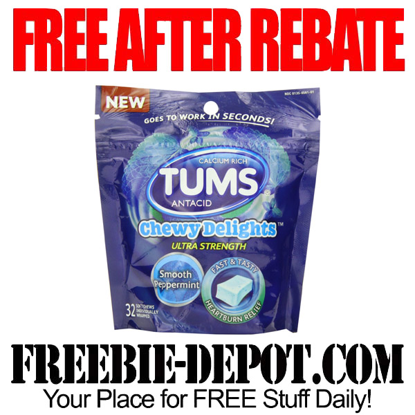 Free After Rebate Tums