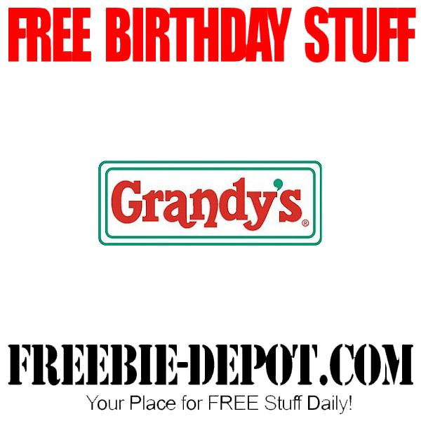Free Birthday Grandys