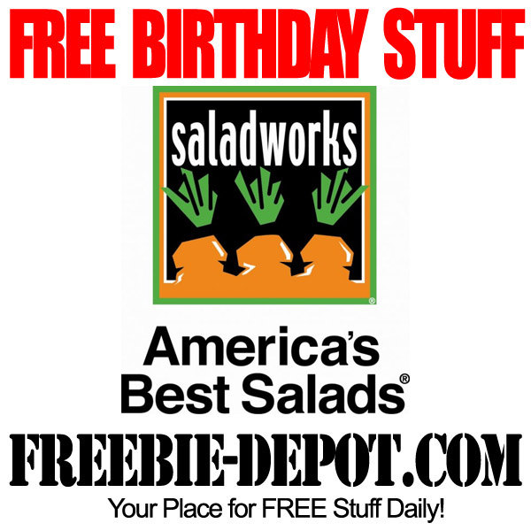 Free Birthday Saladworks