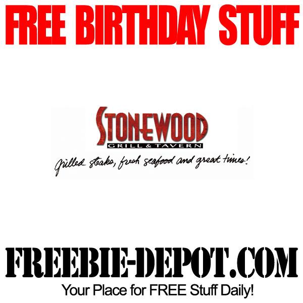 Free Birthday Stonewood Grill