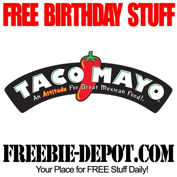 Free Birthday Taco Mayo