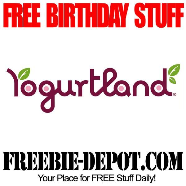 Free Birthday Yogurt