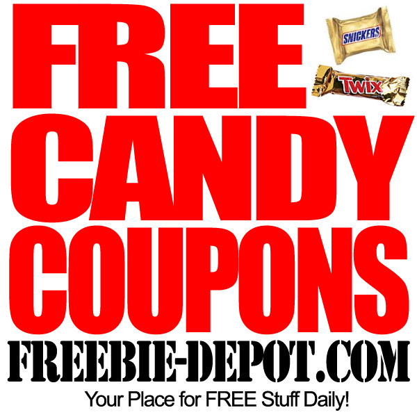Here's a bunch of FREE Candy Coupons just in time for Halloween!