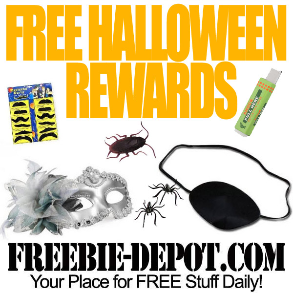 Free Halloween Rewards