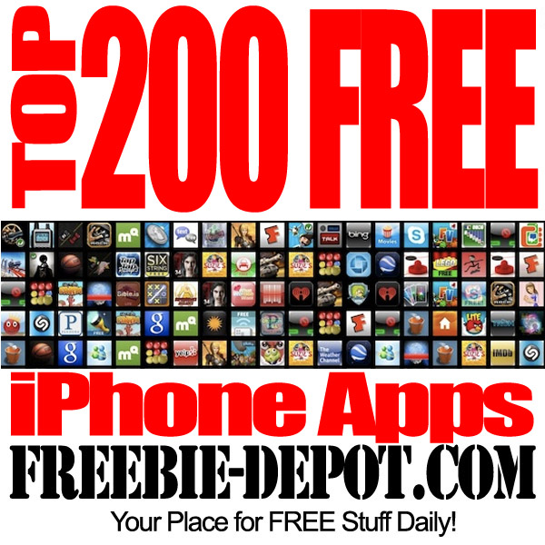 Free iPhone Apps Top 200