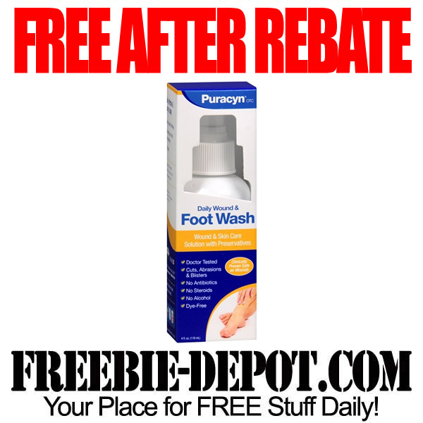Free After Rebate Foot Wash
