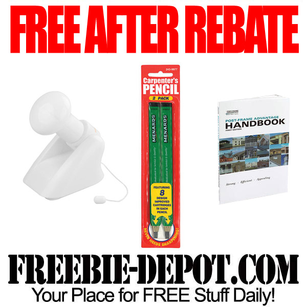 Free After Rebate Pencils