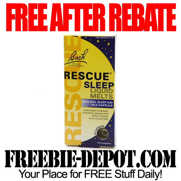 Free After Rebate Sleep Aid Melts