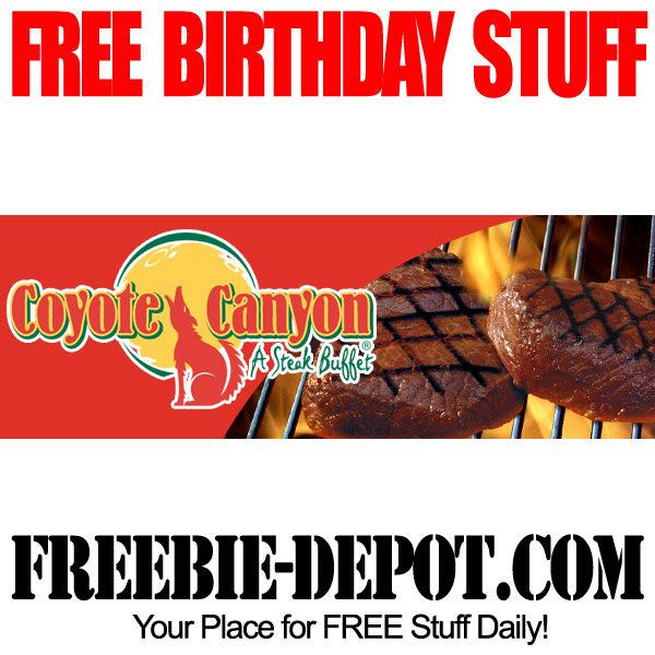 Free Birthday All-You-Can-Eat