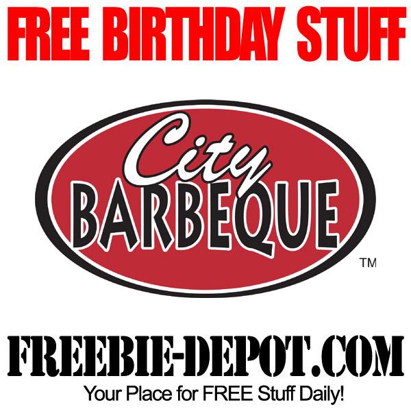 Free Birthday Barbeque