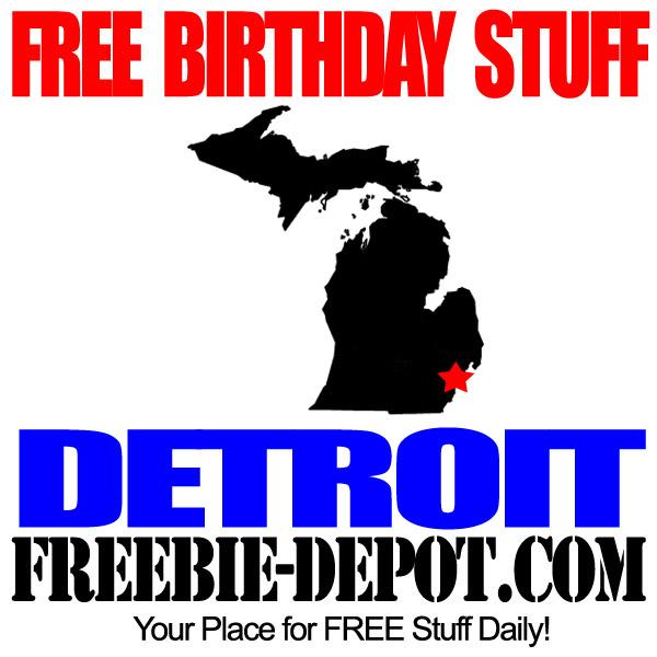 Freebies On Your Birthday In Ann Arbor