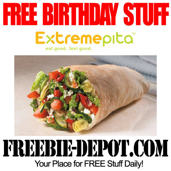 Free Birthday Extreme Pita