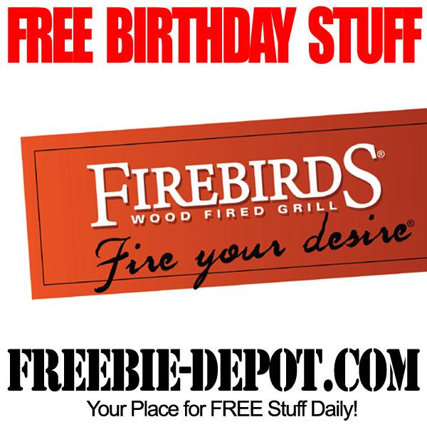 Free Birthday Firebirds