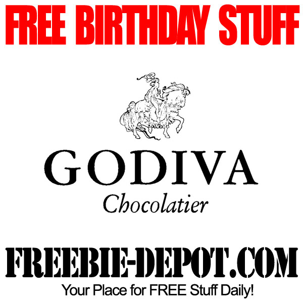 Free Birthday Godiva Chocolates