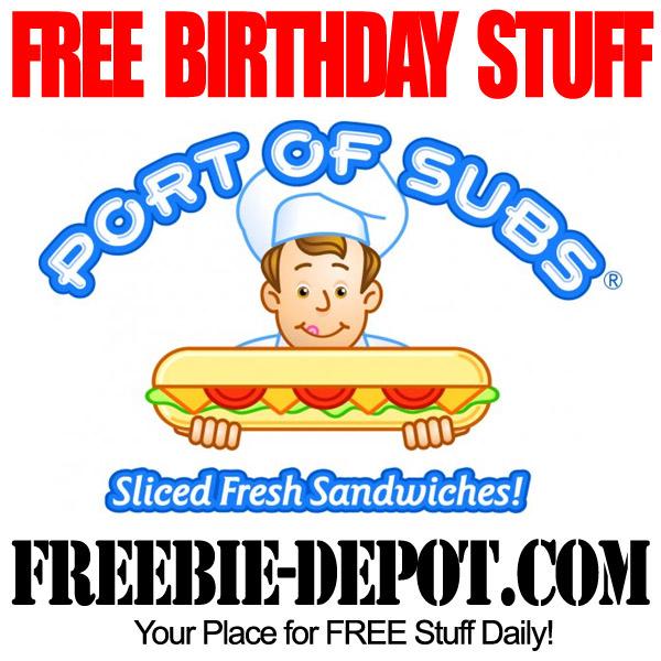 Free Birthday Sub Sandwich