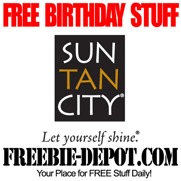 Free Birthday Tan