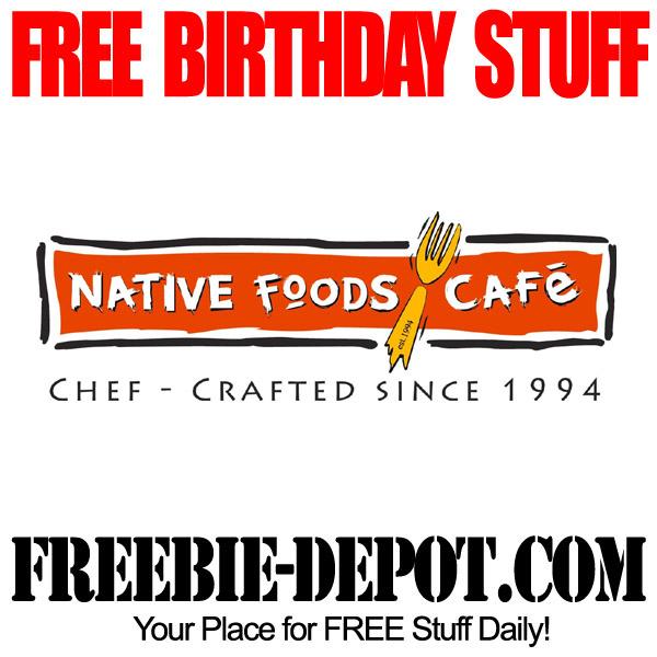 Free Birthday Vegan Meal