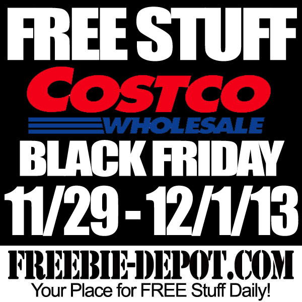 Free Black Friday Stuff at Costco