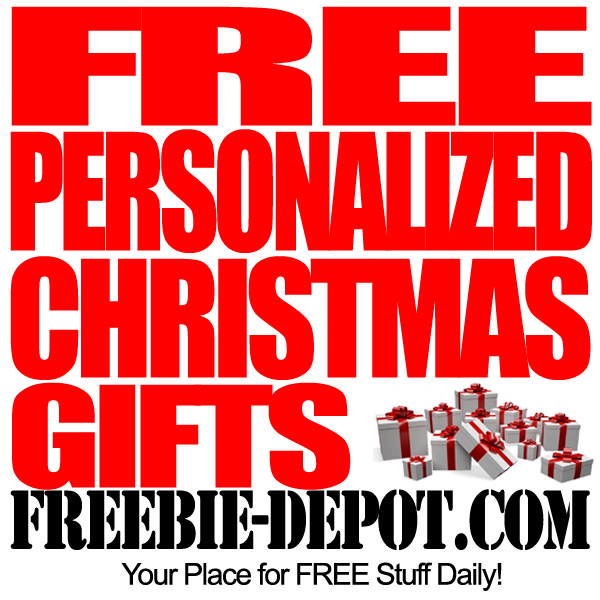 Free Personalized Christmas Gifts