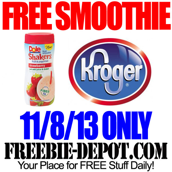 Free Smoothie at Kroger