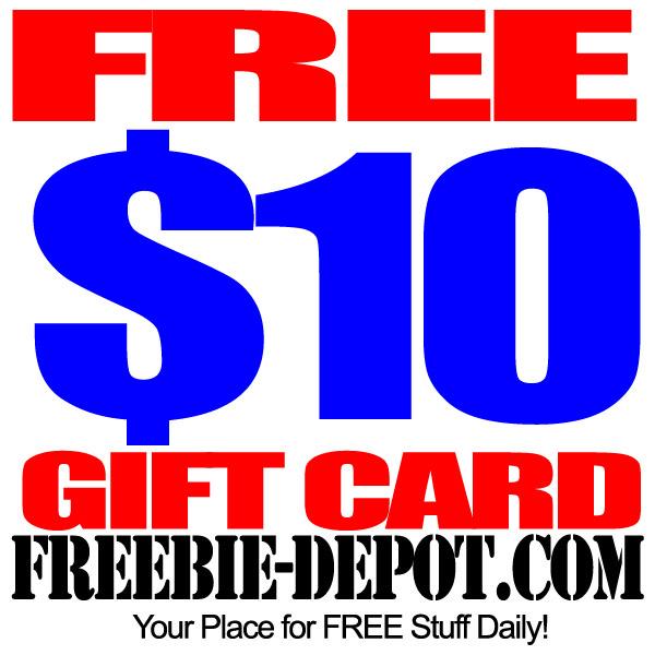 Free 10 Dollar Gift Card