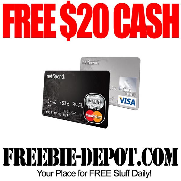 FREE $20 Cash!
