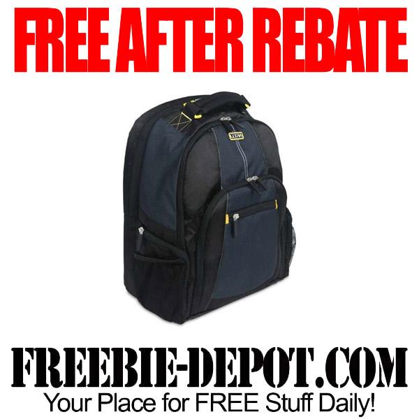FREE After Rebate Backpack