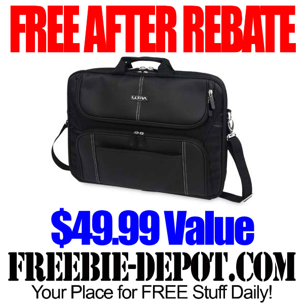 FREE AFTER REBATE – Laptop Messenger Case