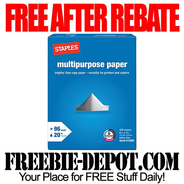 Free-After-Rebate-Paper-Ream