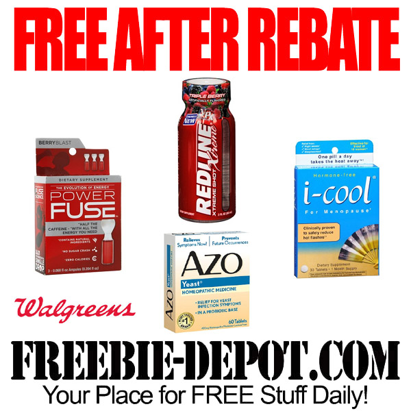 FREE After Rebate Offers at Walgreens
