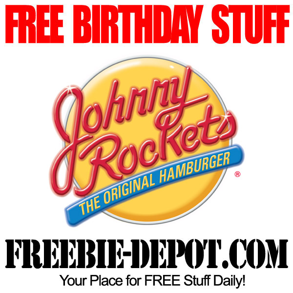 Free Birthday Hamburger Johnny Rockets