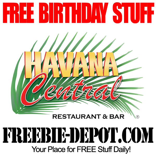 Free Birthday Havana Central New York City