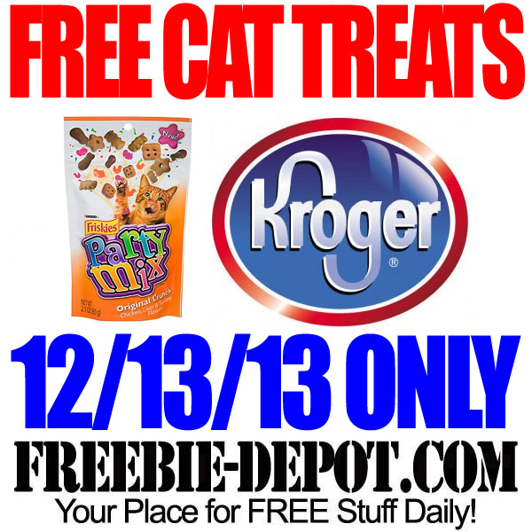 Free Cat Treats from Kroger