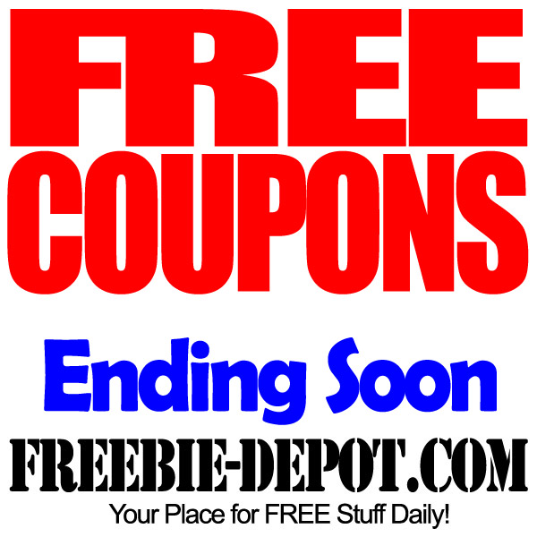 FREE Coupons – Ending Soon