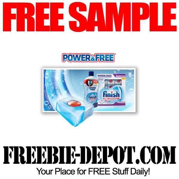 FREE Dish Detergent Sample