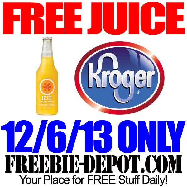 Free Juice Kroger