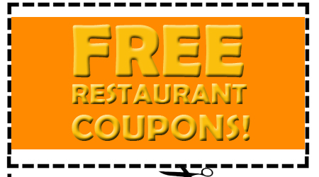 Free Restaurant Coupons