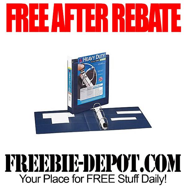 Free After Rebate Binders Avery