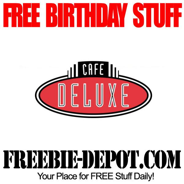 FREE Birthday Dessert