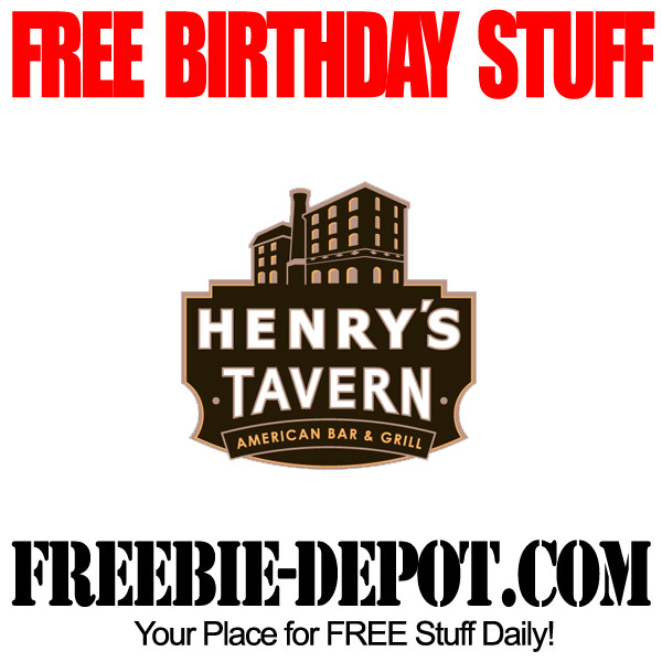FREE Birthday Meals