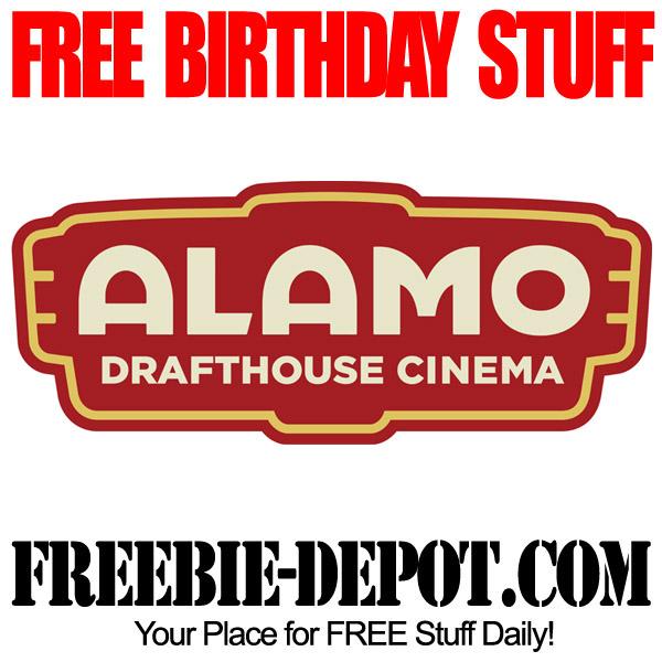 Free Birthday Movie Ticket