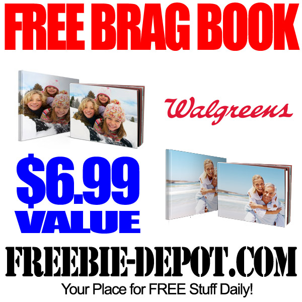 Free Brag Book at Walgreens