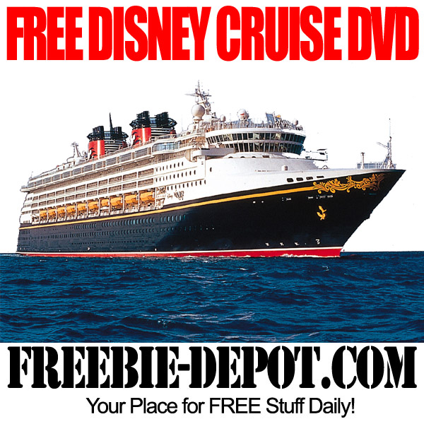 FREE Disney DVD for Vacation of Cruises