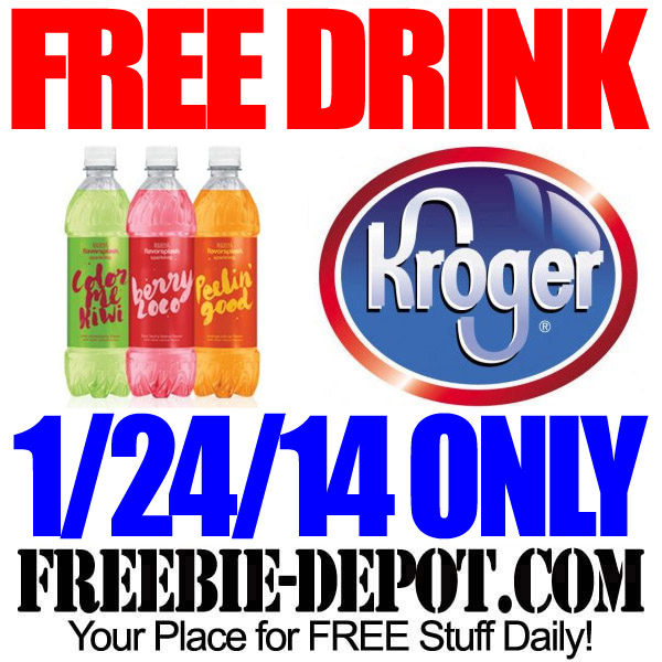 Free-Drink-at-Kroger