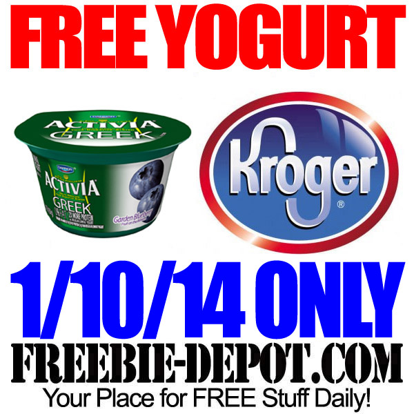 Free Yogurt Kroger