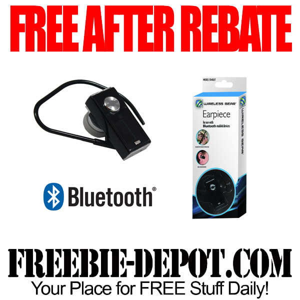 Free After Rebate Bluetooth Earpiece