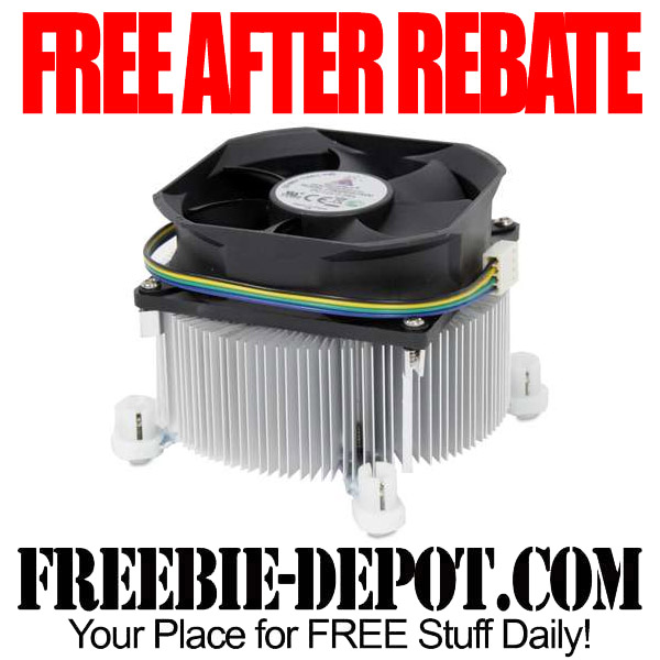 Free After Rebate CPU Fan Cooler