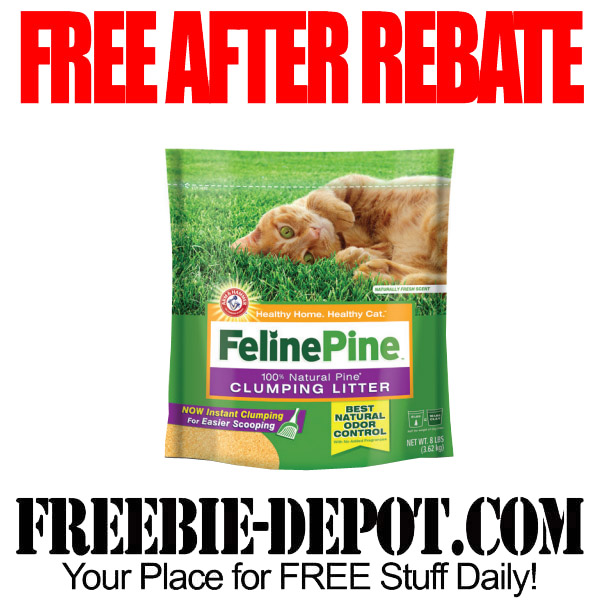 Free After Rebate Clumping Litter