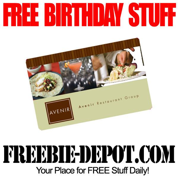Fresno birthday freebies