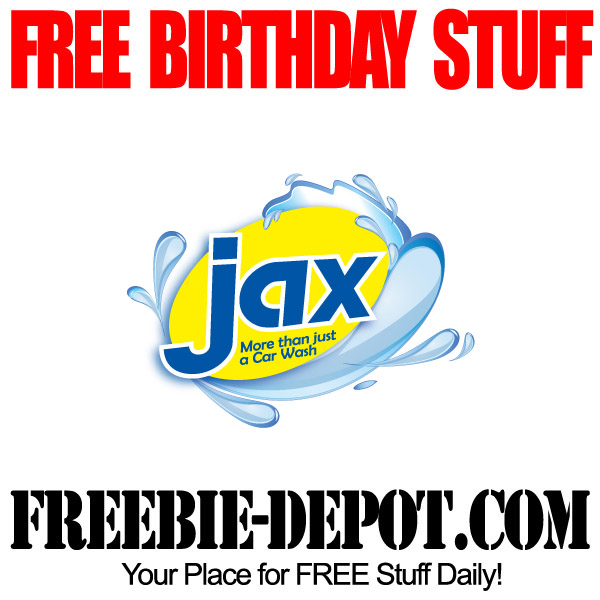 BIRTHDAY FREEBIE – Jax Kar Wash